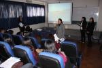 Alumnas de Ingeniería Comercial presentaron innovador proyecto ante estudiantes de Metalurgia